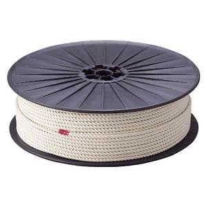 R9150M トラスコ中山 綿ロープ 3つ打 線径9mmX長さ150m