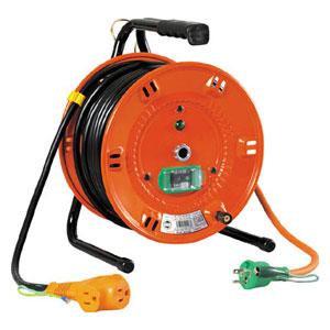 NLEB30S 日動工業 電工ドラム びっくリール 100V アース漏電しゃ断器付 30m
