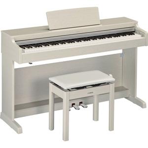 YDP-163WA ヤマハ 電子ピアノ(ホワイトアッシュ調仕上げ)【高低自在椅子&ヘッドホン&ソングブック付き】 YAMAHA ARIUS(アリウス)