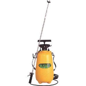 No.7800 フルプラ プレッシャー式噴霧器 2頭3.0m伸縮ノズル(4段)付12L 噴霧器