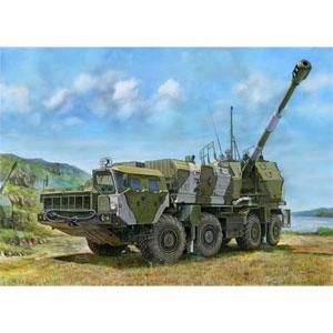 1/35 ロシア連邦軍 A-222 130mm自走沿岸砲 ヴェーリク【01036】 トランペッター