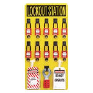 PSL10SWCA パンドウイットコーポレーション ロックアウトステーションキット 10人用