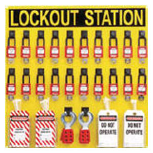 PSL20SWCA パンドウイットコーポレーション ロックアウトステーションキット 20人用