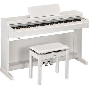 YDP-163WH ヤマハ 電子ピアノ(ホワイトウッド調仕上げ)【高低自在椅子&ヘッドホン&ソングブック付き】 YAMAHA ARIUS(アリウス)