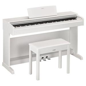 YDP-143WH ヤマハ 電子ピアノ(ホワイトウッド調仕上げ)【椅子&ヘッドホン&ソングブック付き】 YAMAHA ARIUS(アリウス)