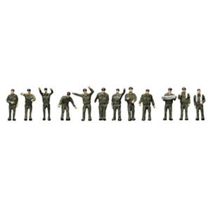 鉄道模型 祝開店大放出セール開催中 トミーテック [ギフト/プレゼント/ご褒美] N 自衛隊の人々 人間111 ザ