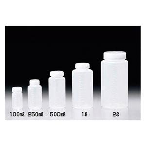 25012 サンプラテック クイックボトル 500ml広口(100本入り)
