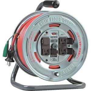 ST30KS ハタヤリミテッド 温度センサー付コードリール 単相100V30M