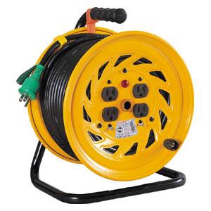 NFE54 日動工業 電工ドラム 標準型100Vドラム アース付 50m