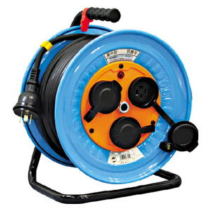 DNWE33020A 日動工業 電工ドラム 防雨防塵型三相200V アース付 30m
