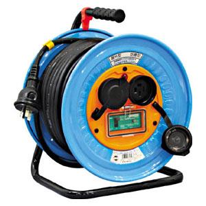 DNWEB33020A 日動工業 電工ドラム 防雨防塵型三相200V アース漏電しゃ断器付 30m