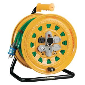BG301KXT トラスコ中山 プロソフトケーブルコードリール 30m 漏電防止付き 100V
