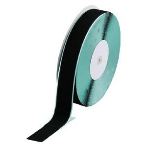 TMBN5025BK トラスコ中山 マジックテープ 糊付B側 幅50mmX長さ25m(黒)