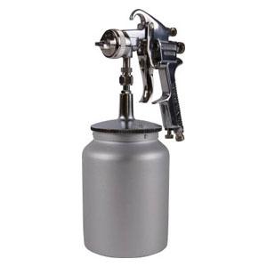 TSG508S14S トラスコ中山 スプレーガン吸上式 ノズル径Φ1.4 1Lカップ付セット