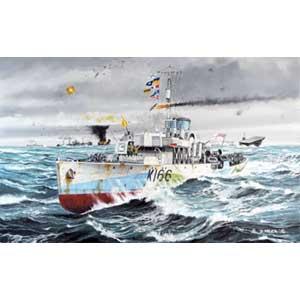 1/144 フラワー級コルベット HMCS スノーベリー【05132】 ドイツレベル