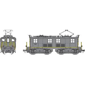 グランドセール [鉄道模型]トラムウェイ (HO) TW-HO-GE14K GEボックスキャブ電機(黒塗装 (HO)、黄色帯)キット, TAISEI:f82c3a07 --- blablagames.net