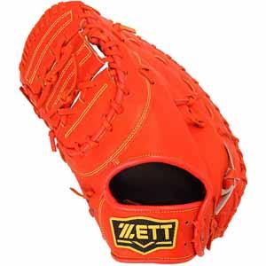 Z-BSCB52512-5800-RH ゼット ソフトボール用ミット(Dオレンジ) ZETT パルモア 捕手・一塁手用 左投用