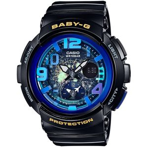 BGA-190GL-1BJF カシオ 【国内正規品】BABY-G Beach Traveler Series デジアナ時計 レディースタイプ [BGA190GL1BJF]【返品種別A】