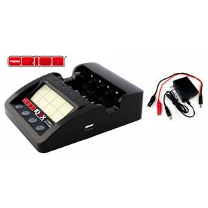 アドバンテージ IQ-4Xチャージャー(NiMH/LiPo/LiFe)【ORI30254B】 京商