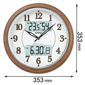 ITM-900FLJ-5JF カシオ 電波掛け時計 [ITM900FLJ5JF]【返品種別A】