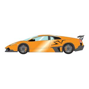 1/43 ランボルギーニ ムルシエラゴ LP670-4 SV 2009 パールオレンジ【EM336B】 メイクアップ