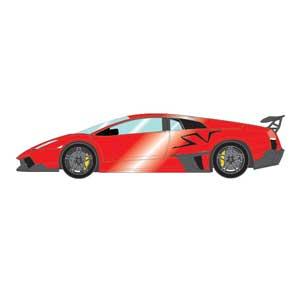 1/43 ランボルギーニ ムルシエラゴ LP670-4 SV 2009 パールレッド【EM336D】 メイクアップ