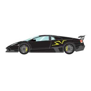 1/43 ランボルギーニ ムルシエラゴ LP670-4 SV 2009 ブラック【EM336E】 メイクアップ