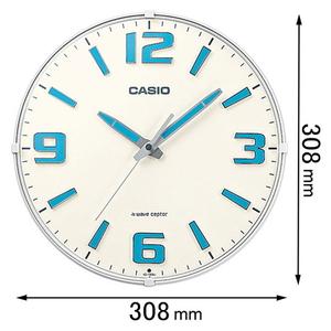 新品 送料無料 IQ-1009J-7JF カシオ 電波掛け時計 休み 返品種別A IQ1009J7JF