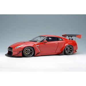 1/18 Rocket Bunny R35 GT-R Wing ver. キャンディレッド【IM003A2】 メイクアップ