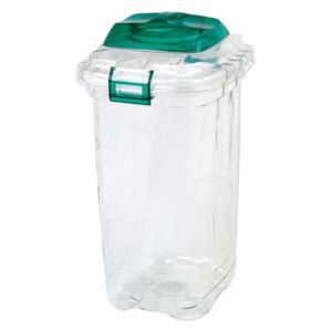 TPDP45G 積水テクノ成型 透明エコダスター ペール 45L(グリーン)