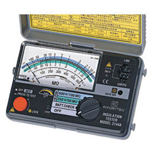 MODEL3146A 共立電気計器 2レンジ小型絶縁抵抗計