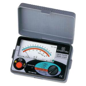 MODEL4102A 共立電気計器 アナログ接地抵抗計(ソフトケース)