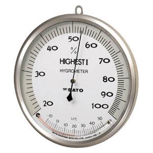 754000 佐藤計量器製作所 温湿度計 ハイエスト1型