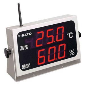 SKM350RTRH 佐藤計量器製作所 コードレス温湿度表示器(8102-00)