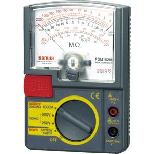 PDM1529S 三和電気計器 アナログ絶縁抵抗計 1000V/500V/250V