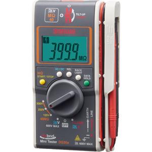 DG35A 三和電気計器 ハイブリッドミニ絶縁抵抗計(3レンジ絶縁抵抗計+クランプ)