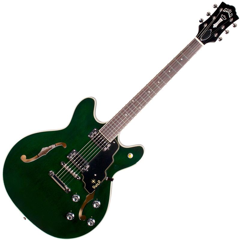 STARFIRE 4 ST GRN ギルド エレクトリックギター(グリーン) GUILD Newark St. Collection