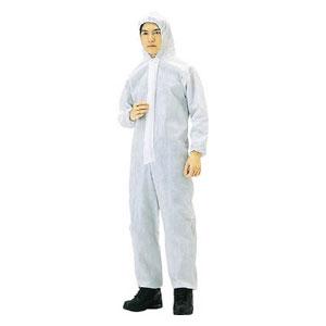TPCM40 トラスコ中山 不織布使い捨て保護服M(40入)