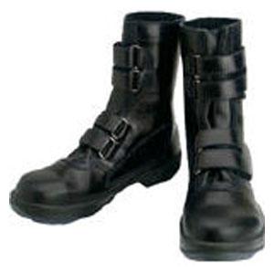8538N24.0 シモン 安全靴 マジック式 黒 24.0cm