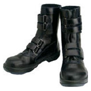 8538N24.5 シモン 安全靴 マジック式 黒 24.5cm