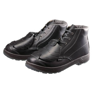 SS22D625.5 シモン 安全靴甲プロ付 編上靴 25.5cm