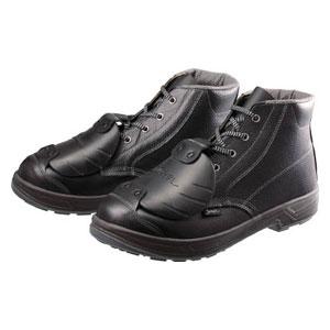 SS22D627.5 シモン 安全靴甲プロ付 編上靴 27.5cm
