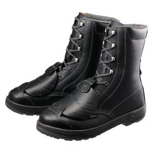 SS33D625.0 シモン 安全靴甲プロ付 長編上靴 25.0cm