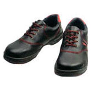 SL11R26.0 シモン 安全靴 短靴 黒/赤 26.0cm