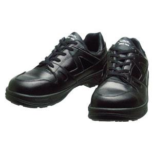 8611BK27.0 シモン 安全靴 短靴 黒 27.0cm