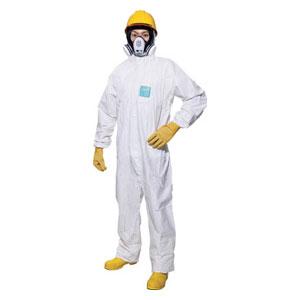MG2000PXL 重松製作所 使い捨て化学防護服(10着入り) XLサイズ(ホワイト)