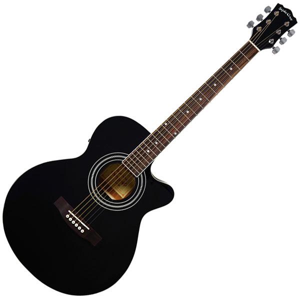EAW-01/BK セピアクルー エレクトリックアコースティックギター(ブラック) SEPIA CRUE