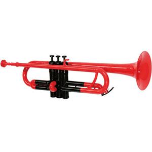 ZPT-01 RED/BLK ゼフ プラスチック製トランペット(レッド) zeff