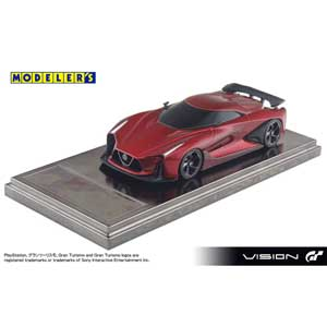 1/43 NISSAN CONCEPT 2020 Vision Gran Turismo LAVA RED【MD43006RE】 モデラーズ
