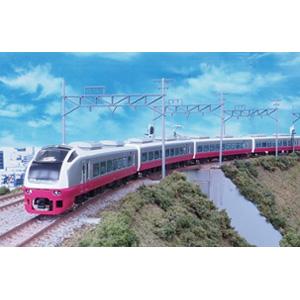 [鉄道模型]グリーンマックス (Nゲージ) 50551 E653系(フレッシュひたち 床下黒・赤) 7両編成セット(動力付き)